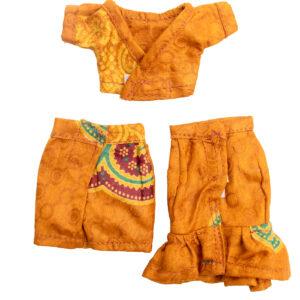Shedda mini skirt and half shirt