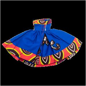 E kyinei blue strapless dress