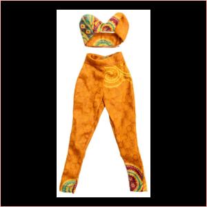 Sheddah pants and small halter top