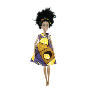 Good Woman purple/yellow short sleeves